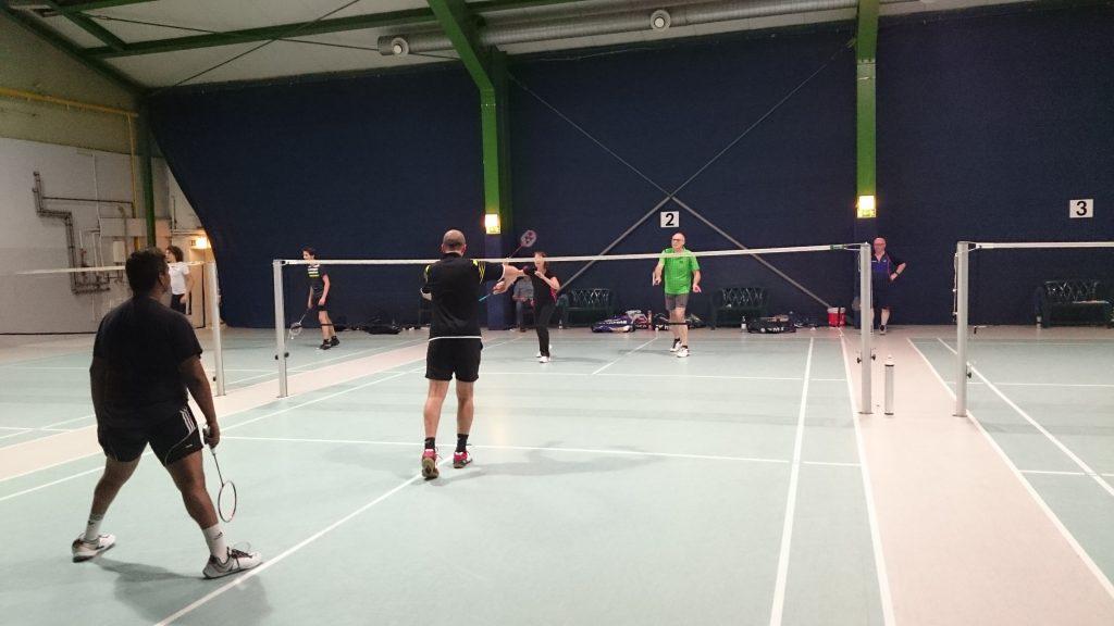 Badminton in der Färberstraße
