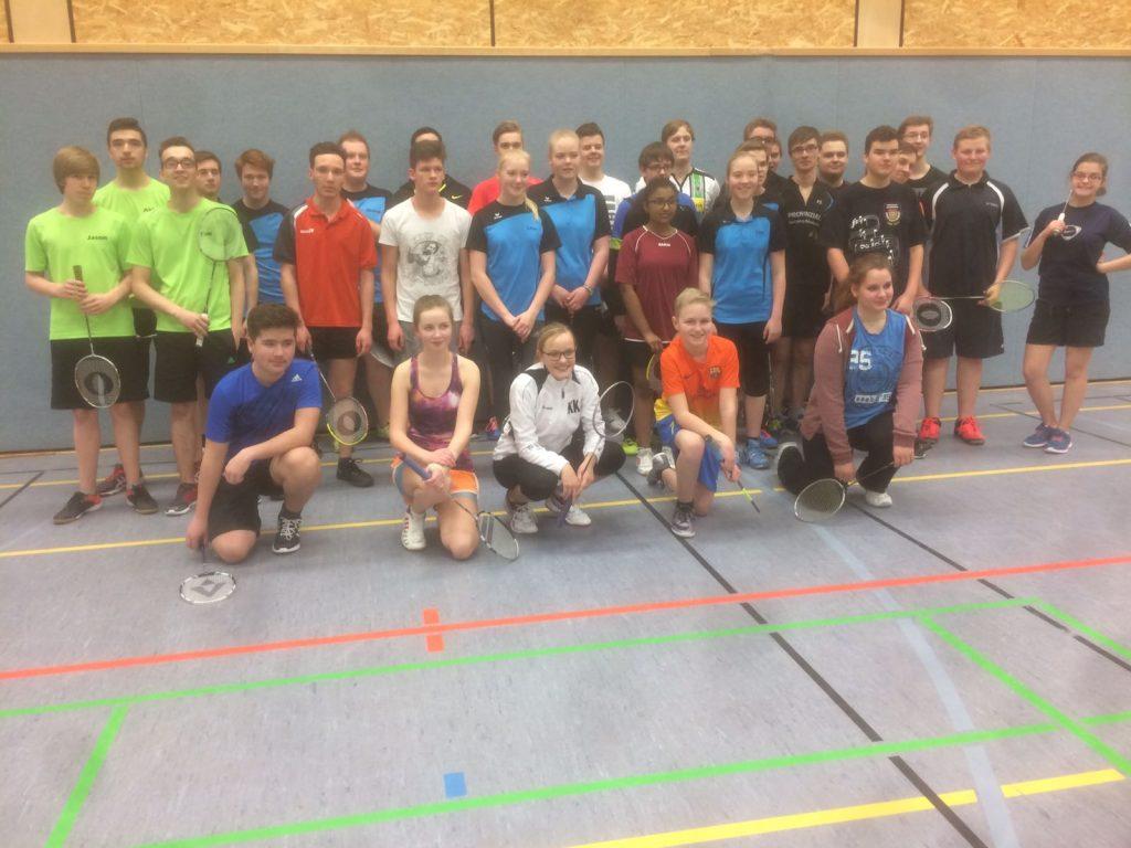 Plettenberger Badmintonturnier 2017