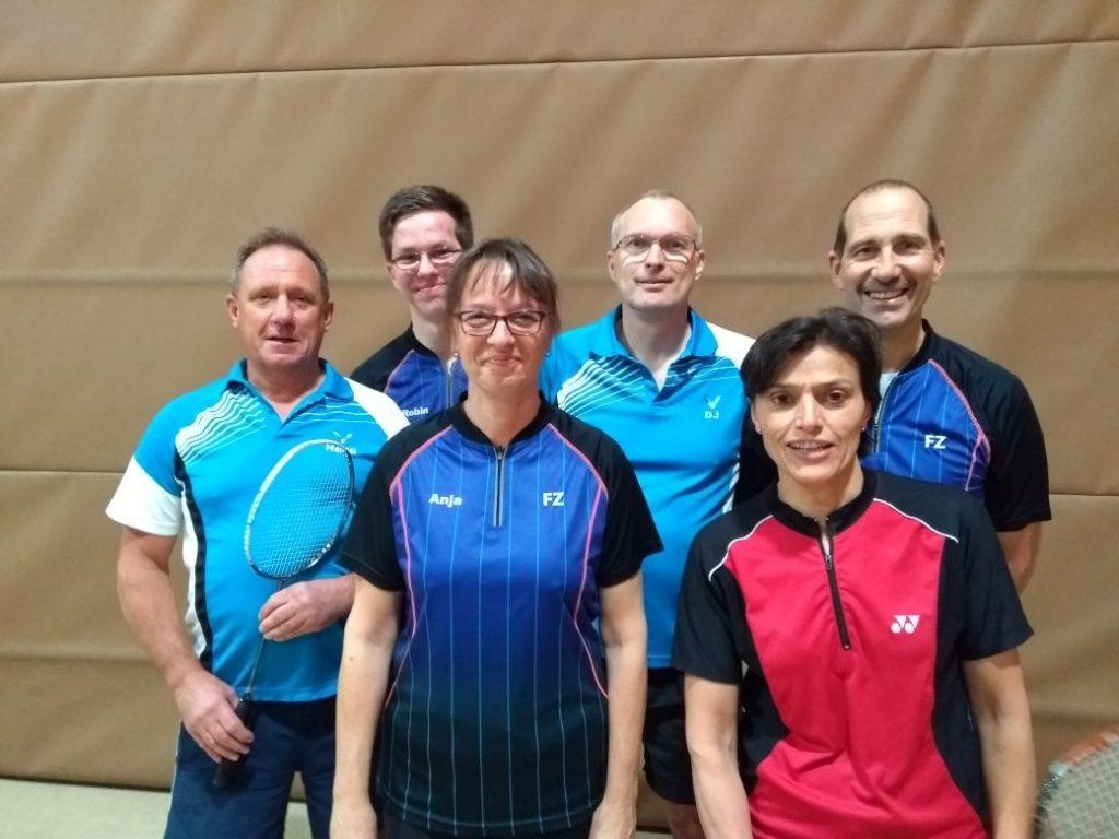 Werdohler Badminton Senioren beim TV Rahmede II
