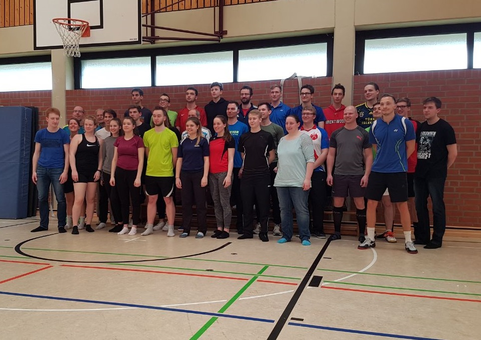Neue Badminton Trainerassistenten